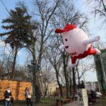 【ウクライナ】首都キエフのイースタ―はうさぎとたまご